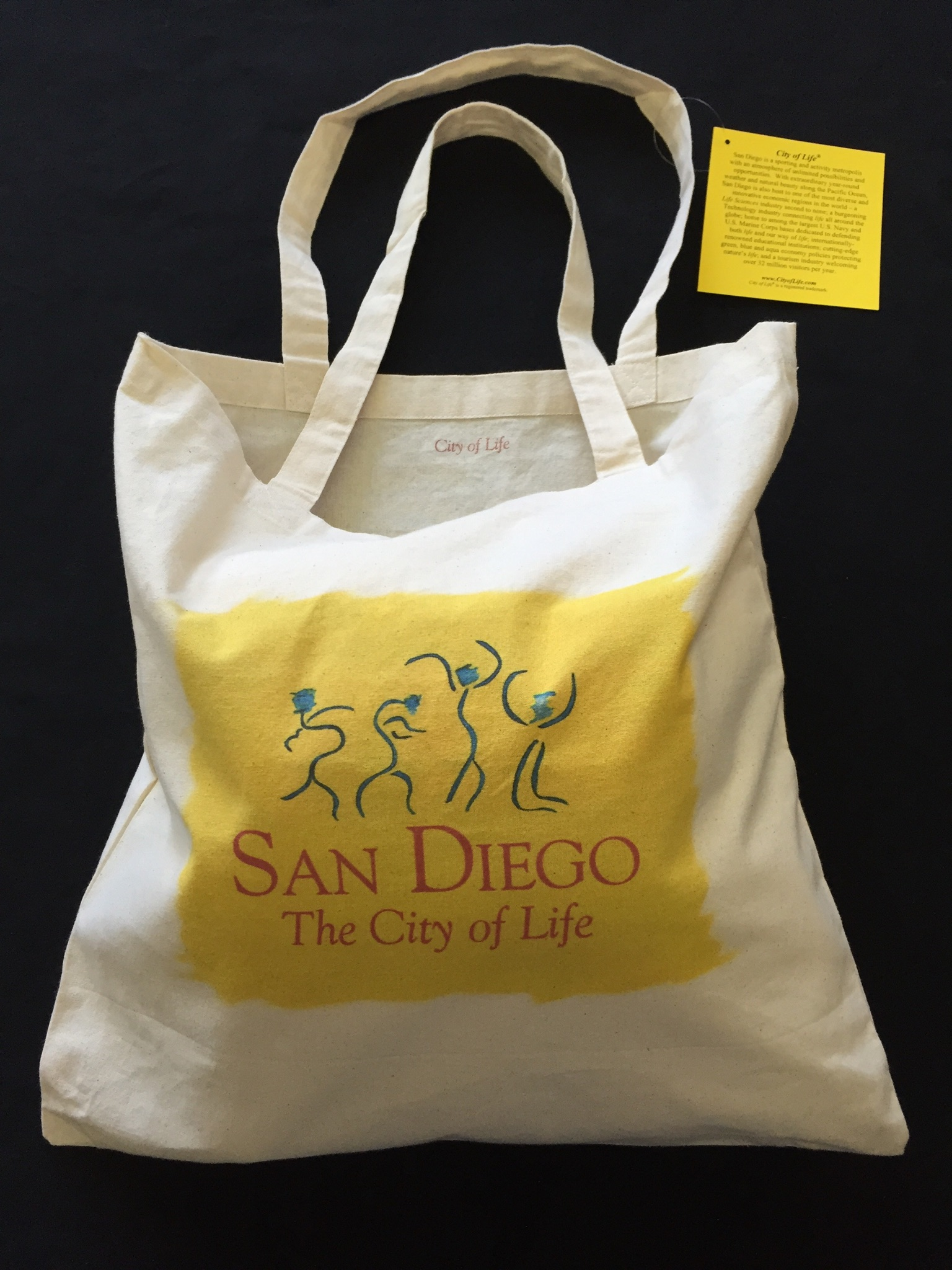 City of Life Tote Bag